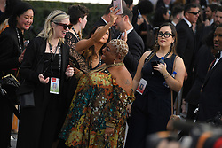 January 27, 2019 - Los Angeles, California, U.S - LUENELL during silver carpet arrivals for the 25th Annual Screen Actors Guild Awards, held at The Shrine Expo Hall. (Credit Image: © Kevin Sullivan via ZUMA Wire)