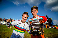 #1 (SMULDERS Laura) NED and #313 (KIMMANN Niek) NED win Round 4 of the 2019 UCI BMX Supercross World Cup in Papendal, The Netherlands