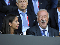 Vicente del Bosque, Manager of Spain - Photo mandatory by-line: Joe Meredith/JMP - Mobile: 07966 386802 12/08/2014 - SPORT - FOOTBALL - Cardiff - Cardiff City Stadium - Real Madrid v Sevilla - UEFA Super Cup