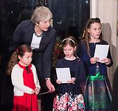 Downing Street Xmas Tree Lights Switch on 6th December 2017