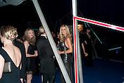 ROSANNA DAVIDSON, Grey Goose character and cocktails. The Elton John Aids Foundation Winter Ball. off Nine Elms Lane. London SW8. 30 October 2010. -DO NOT ARCHIVE-© Copyright Photograph by Dafydd Jones. 248 Clapham Rd. London SW9 0PZ. Tel 0207 820 0771. www.dafjones.com.