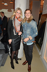 NATASHA RICHARDSON and FRANCISCO GOMES at the launch of the Private White VC flagship store, 73 Duke Street, London on 11th December 2014.