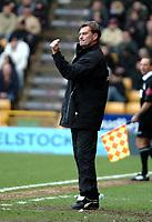 Photo: Ed Godden.<br />Wolverhampton Wanderers v Cardiff City. Coca Cola Championship. 11/03/2006. <br />Glenn Hoddle, Wolves Manager.