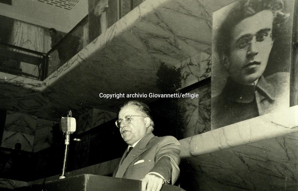 Palmiro Togliatti<br />archivio Giovannetti/effigie