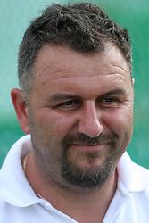Vladimir Kevo, coach of Primoz Kozmus at Athletic National Championship of Slovenia, on July 19, 2008, in Stadium Poljane, Maribor, Slovenia. (Photo by Vid Ponikvar / Sportal Images).