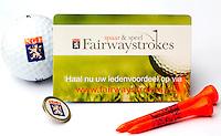 HAARLEM - ILLUSTRATIE Spaarsysteem FAIRWAYSTROKES van de NGF (Nederlandse Golf Federatie). COPYRIGHT KOEN SUYK