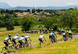 Peloton in Kras during 4th Stage of 26th Tour of Slovenia 2019 cycling race between Nova Gorica and Ajdovscina (153,9 km), on June 22, 2019 in Slovenia. Photo by Vid Ponikvar / Sportida