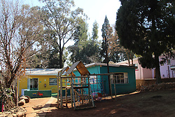 July 13, 2016 - Johannesburg, South Africa - The playground and building at the site of Nkosi's Haven orphanage in Johannesburg, South Africa, 13 July 2016. Around 100 children, most of them HIV-positive, are currently living in the orphanage. Photo:Juergen Baetz/dpa (Credit Image: © JüRgen BäTz/DPA via ZUMA Press)