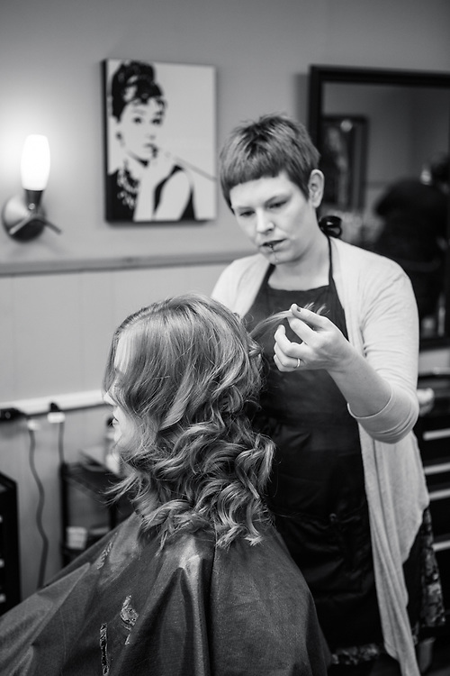 14 April 2012- Mike and Kiley Freeman are photographed  at Icon Studios (hair), Dundee Dell (after ceremony), Catherdral (ceremony), and Double Tree Downtown (reception) for their wedding day