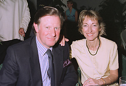MR & MRS TOM JONES, she is the daughter of Dame Vera Lynn, at a party in London on 16th September 1997.MBF 70