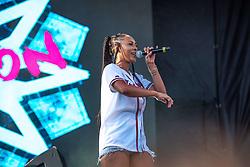 September 9, 2018 - Keri Hilson- performing at One MusicFest in Atlanta, GA on 09 September 2018 (Credit Image: © RMV via ZUMA Press)