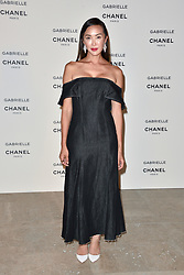 """Liu Wen attending the party for the new Chanel perfume """"Gabrielle"""", at the Palais de Tokyo in Paris, France, on July 4, 2017. Photo by Alban Wyters/ABACAPRESS.COM"""