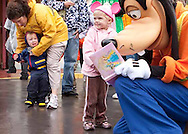 My family visits Disneyland for my daughter's birthday in February. It was the children's first trip to Disneyland.