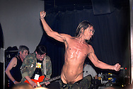UK. Minehead. All Tomorrow's Parties 'The Nightmare Before Christmas' at the Butlins Holiday Centre, Minehead, Somerset.<br /> Photo shows Iggy Pop and The Stooges performing on Centre Stage.