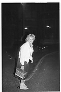 ALEXANDRA HESELTINE, Party at the Oxford Union. 30 April 1983, <br /> <br /> SUPPLIED FOR ONE-TIME USE ONLY> DO NOT ARCHIVE. © Copyright Photograph by Dafydd Jones 248 Clapham Rd.  London SW90PZ Tel 020 7820 0771 www.dafjones.com
