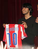 """DIEGO MARADONA with Atletico de Madrid soccer player SERGIO KUN AGUERO, where together in family to a music show in Buenos June 27, 2008, Argentina <br /> The Show was in Avellaneda, with the performance of the Tropical CUMBIA music group Los Leales"""".<br /> SERGIO AGUERO are in LOVE with MARADONA daughter GIANINNA.<br /> ©PikoPress"""