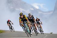 Primoz Roglic (SLO - Team LottoNL - Jumbo), Tom Dumoulin (NED - Team Sunweb) during the 105th Edition of Tour de France 2018, cycling race stage 19, Lourdes - Laruns (200 km) on July 27, 2018 in Laruns, France - photo Kei Tsuji / BettiniPhoto / ProSportsImages / DPPI