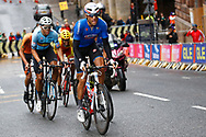 Men Road Race 230,4 km, Davide Cimolai (Italy), during the Cycling European Championships Glasgow 2018, in Glasgow City Centre and metropolitan areas, Great Britain, Day 11, on August 12, 2018 - Photo Luca Bettini / BettiniPhoto / ProSportsImages / DPPI - Belgium out, Spain out, Italy out, Netherlands out -