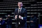 Brienza Nicola<br /> UnaHotels Reggio Emilia Dolomiti Energia Trentino<br /> Legabasket Serie A UnipolSAI 2020/2021<br /> Bologna, 23/01/2021<br /> Foto A.Giberti / Ciamillo-Castoria