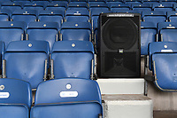 Football - 2019 / 2020 Sky Bet (EFL) Championship - Queens Park Rangers vs. Fulham<br /> <br /> Speakers amongst the seats for crowd noise, at Kiyan Prince Foundation Stadium (Loftus Road).<br /> <br /> COLORSPORT/ASHLEY WESTERN