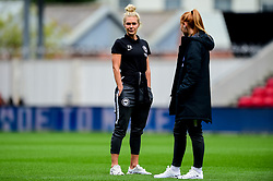 Emily Simpkins of Brighton and Hove Albion Women prior to kick off - Mandatory by-line: Ryan Hiscott/JMP - 07/09/2019 - FOOTBALL - Ashton Gate - Bristol, England - Bristol City Women v Brighton and Hove Albion Women - FA Women's Super League