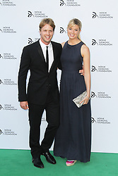 © Licensed to London News Pictures. Sam Branson and Isabella Calthorpe at the  Novak Djokovic Foundation London gala dinner, The Roundhouse, London UK, 08 July 2013. Photo credit: Richard Goldschmidt/LNP