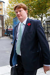 © Licensed to London News Pictures. 03/11/2015. London, UK. Former Chief Secretary to the Treasury Danny Alexander attending a memorial service for ex-Liberal Democrat leader Charles Kennedy at St George's Cathedral in London on Tuesday, 3 November, 2015. Mr Kennedy died suddenly on June 1, 2015 at the age of 55 after suffering a major haemorrhage as a result of a long battle with alcoholism. Photo credit: Tolga Akmen/LNP