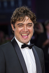 Riccardo Scamarcio walks the red carpet ahead of Les Estivants (The Summer House) screening during the 75th Venice Film Festival at Sala Grande on September 5, 2018 in Venice, Italy. Photo by Marco Piovanotto/ABACAPRESS.COM