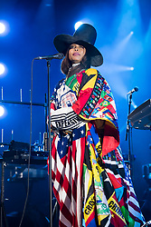 Erykah Badu performs at the Montreux Jazz Festival, Switzerland on July 11, 2017. Photo by Loona/ABACAPRESS.COM