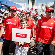 © Maria Muina I MAPFRE. Momentos previos del día de la salida de la etapa 8 en Itajaí. Previous moments ot the start of leg 8 from Itajaí.