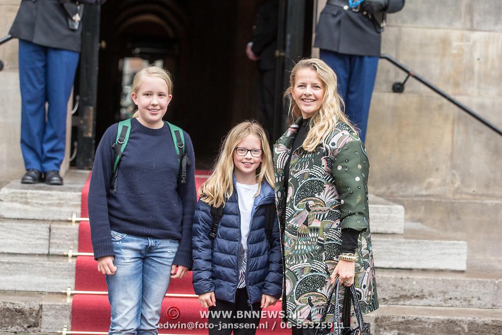 NLD/Amsterdam/20180203 - 80ste Verjaardag Pr. Beatrix, Prinses Mabel met dochters prinses Luana en prinses Zaria