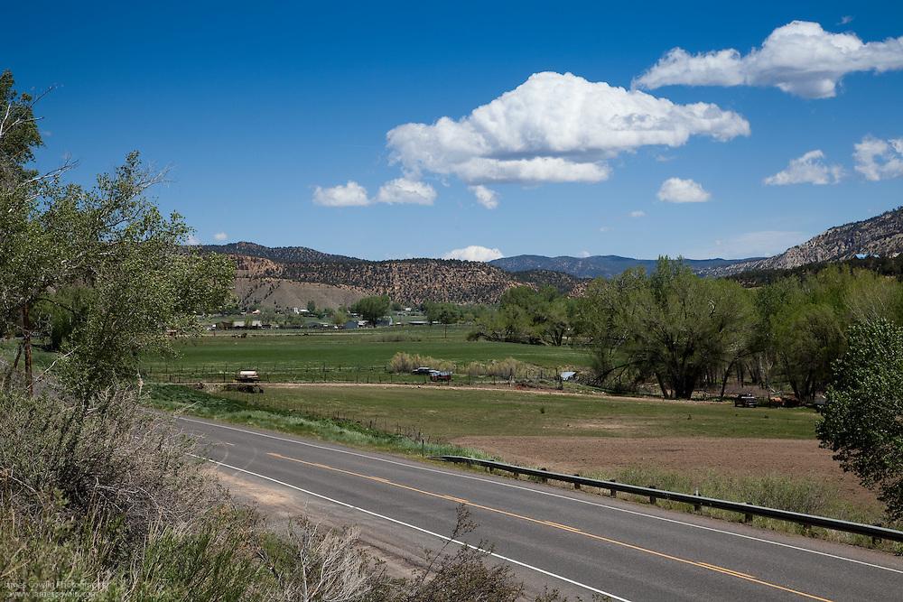 US Route 89 in Mt. Carmel in southern Utah