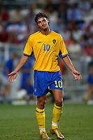 Faro 27/6/2004 Euro2004 <br />Svezia - Olanda 4-5 after penalties (0-0) <br />Zlatan Ibrahimovic of Sweden<br />Photo Andrea Staccioli Graffiti