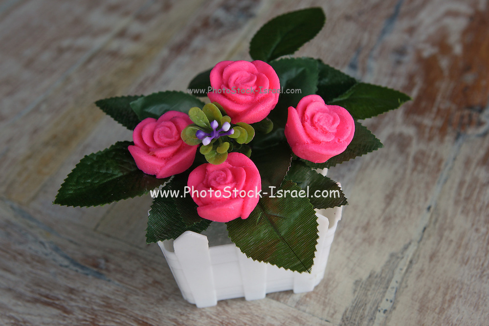 Decorative soap flowers - for fragrance and beauty