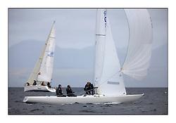 Savills Kip Regatta 2011, the opening regatta of the Scottish Yachting Circuit, held on the Clyde..Diablo, GBR 119, Etchells 22..