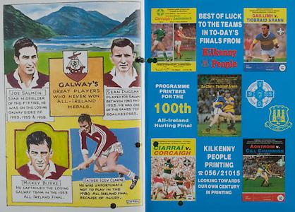 All Ireland Senior Hurling Championship Final, .06.09.1987, 09.06.1987, 6th September 1987, .Kilkenny v Galway, .Galway 1-12, Kilkenny 0-9,.06091987AISHCF, .Senior Kilkenny v Galway,.Minor Tipperary v Offaly,