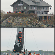 Team Alvimedica thanking Clingstone for thier support after Saturday's inshore race.