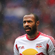 Thierry Henry, New York Red Bulls, during the New York Red Bulls V D.C. United, Major League Soccer regular season match at Red Bull Arena, Harrison, New Jersey. USA. 16th March 2013. Photo Tim Clayton