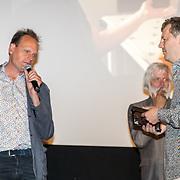 NLD/Amsterdam/20170616 - Uitreiking Nipkowschijf 2017, Vincent Bijlo en Hans Beerekamp en Martin Deen
