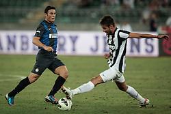 Bari (BA) 21.07.2012 - Trofeo Tim 2012. Inter - Juventus. Nella Foto: Zanetti (I) e Masi (J)