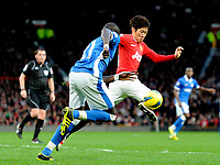 20111226: LONDON, UK - Barclays Premier League 2011/2012:  <br /> Manchester United vs Wigan Athletic.<br /> In photo: Park Ji-Sung of Manchester United and Mohamed Diame of Wigan Athletic.<br /> PHOTO: CITYFILES