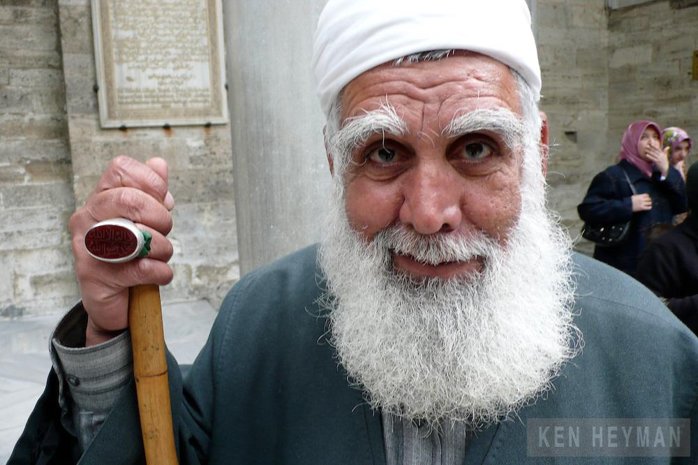 Holy man in Turkey.