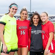 10/27/2019 -  Women's Soccer v San Jose State - Senior Day