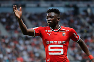 Hamari TRAORE (STADE RENNAIS FOOTBALL CLUB) during the French championship L1 football match between Rennes v Lyon, on August 11, 2017 at Roazhon Park stadium in Rennes, France - Photo Stephane Allaman / ProSportsImages / DPPI