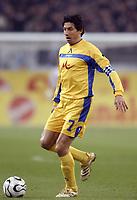 Fotball<br /> Foto: imago/Digitalsport<br /> NORWAY ONLY<br /> <br /> 06.04.2006  <br /> <br /> Daniel Borimirov (Levski Sofia) am Ball<br /> <br /> FC Schalke 04 - PFK Levski Sofia 1:1<br /> UEFA Cup 2005/2006