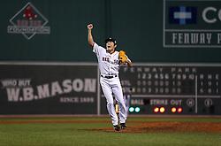 Koji Uehara and the Boston Red Sox win, 2013