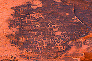 Petroglyphs, Valley of Fire State Park, Nevada