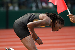 2012 USA Track & Field Olympic Trials: Olympic Trials Eugene 2012, women's long jump, Brittany Reese, challenges scratch mark, wins, makes Olympic team women's Long Jump