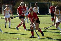 St Paul's School girls varsity Field Hockey with Tilton School.   ©2020 Karen Bobotas Photographer