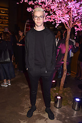Will Poulter at the launch of Nobu Hotel London Shoreditch,10-50 Willow Street, London, England. 15 May 2018.